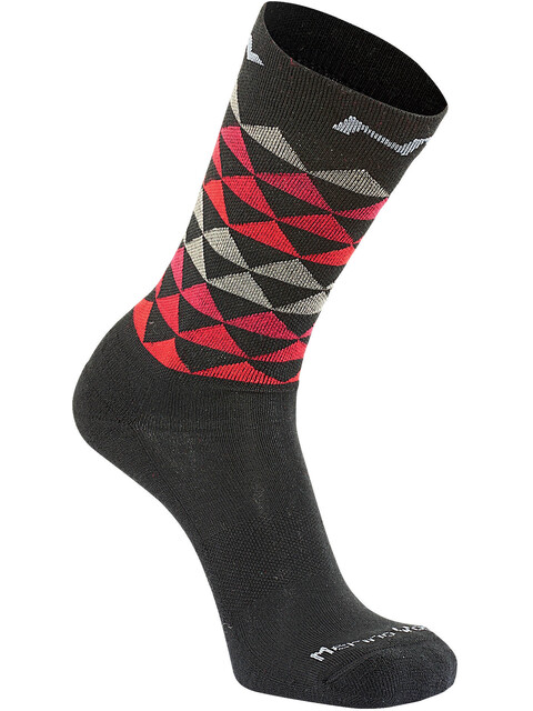 Northwave Core High Socks Men black/red